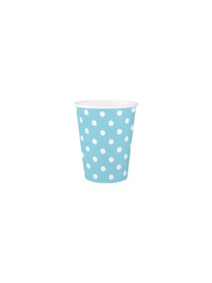 kék pöttyös pohár